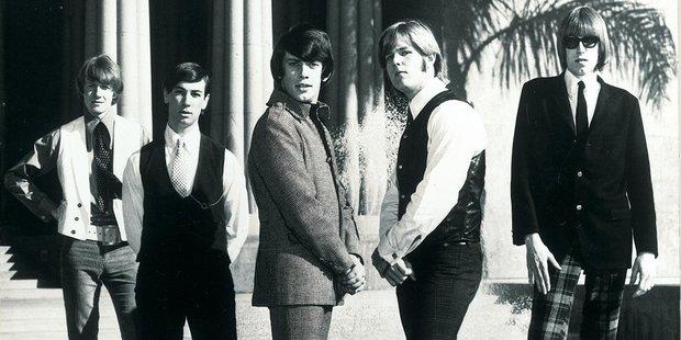 Ray Columbus with his band. Photo / Indium Design