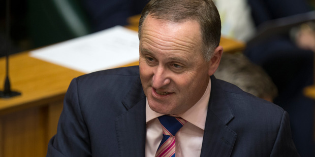 Government will be able to satisfy many spending itches, Prime Minister John Key hinted today. Picture / Mark Mitchell
