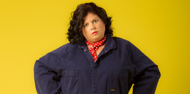 Urzila Carlson is one of the Kiwi comedians upset about the San Francisco Bath House being dropped by the Comedy Festival. Photo / Michael Craig