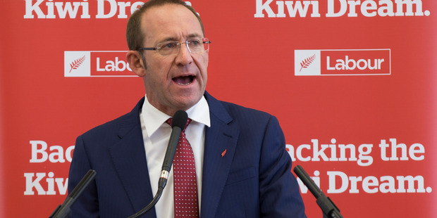 Labour Party Leader, Andrew Little. Photo / Nick Reed