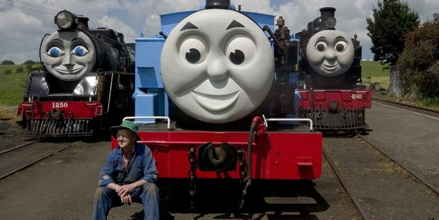 Thomas the Tank Engine is a visitor. Photo / Richard Robinson