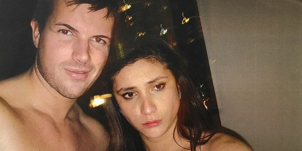 Photo of Warriena Wright and Gable Tostee taken inside his apartment the night Ms Wright died. Photo / Supplied