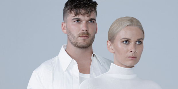 Brother and sister duo Broods will headline the Electric Coastline tour. Photo/Supplied