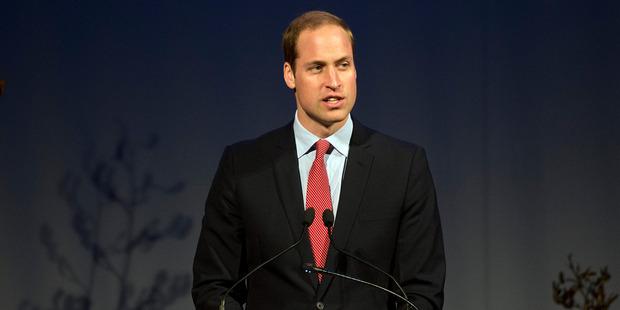 The Duke of Cambridge, Prince William. Photo / Pool