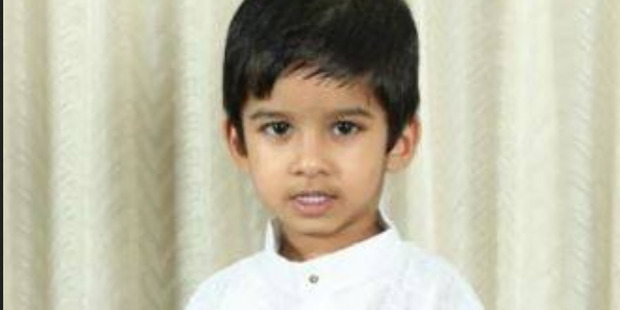 4 year old Aldrich Viju died in an accident at the Angels Childcare Centre on Anzac St Takapuna 18 November 2016 picture suppleid via facebook https://www.facebook.com/Auckland-Malayali-Samaj
