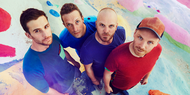 Guy Berryman, Chris Martin, Will Champion and Jonny Buckland of Coldplay. Photo / Supplied