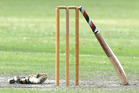 The zone 2 Furlong Cup match between Manawatu and Hawke's Bay at Fitzherbert Park, Palmerston North, was abandoned yesterday. PHOTO/NZME.