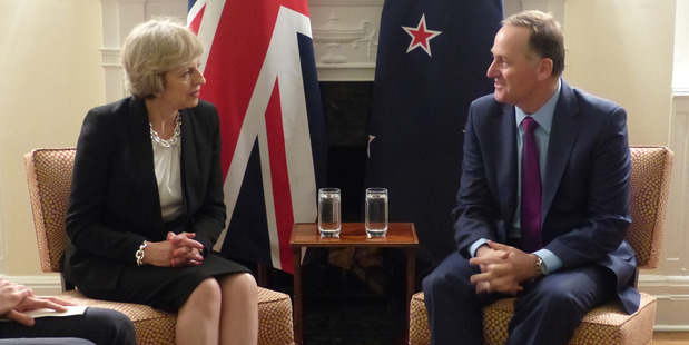 Loading British PM Theresa May appeared to back employee representation on company boards recently. Photo / NZ Herald
