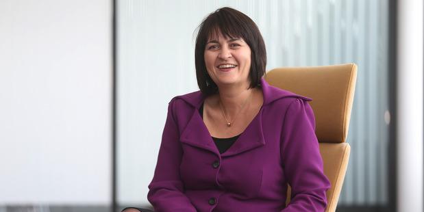 Loading Spark New Zealand chief financial officer Jolie Hodson. Photo / Doug Sherring