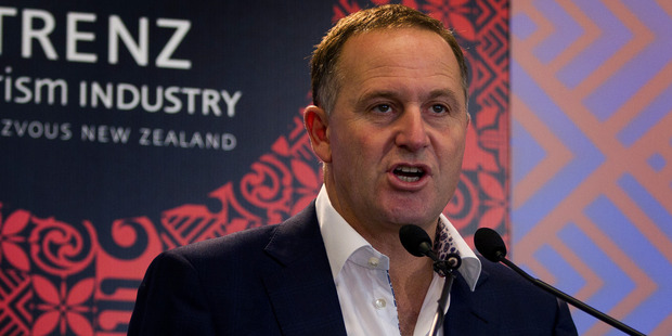 Prime Minister and Tourism Minister John Key has received a report on  infrastructure needs for tourism.