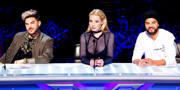 Guy Sebastian (right) has slammed his fellow X Factor judge, Iggy Azalea, saying she wasn't invested in the show. Photo / Supplied