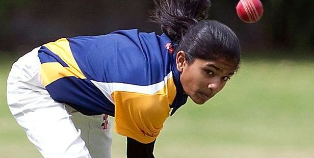 Tauranga teenager Nensi Patel made a fine debut for the Northern Spirit against Auckland. PHOTO:FILE