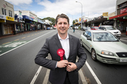 Michael Wood, new Labour Pary MP for Mt Roskill. Photo / Michael Craig