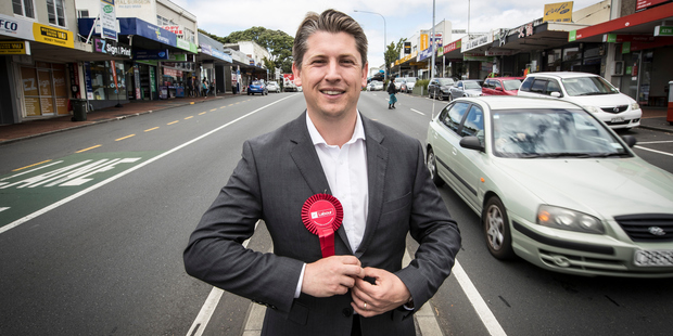 "Loading Mt Roskill Labour Pary byelection candidate Michael Wood says he is feeling ""very, very positive"", but is taking nothing for granted. Photo / Michael Craig"