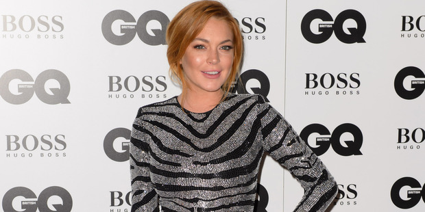Lindsay Lohan has found herself having to stay with a friend after losing her apartment. Photo / AP