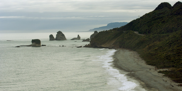 """The publicity a proposed Punakaiki freedom camping ban attracted was """"not a good message to be sending to tourists"""" says  NZ Motorcaravan Association chief executive Bruce Lochore. Photo / NZPA"""