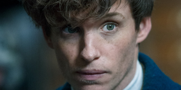 Eddie Redmayne in Fantastic Beasts and Where to Find Them. Photo / Supplied