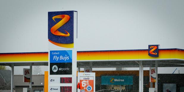 Loading Z Energy - a Kiwi branding success story. Photo / Warren Buckland