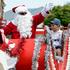 The main man, Santa, was very popular at the Kamo Christmas Parade on Saturday.