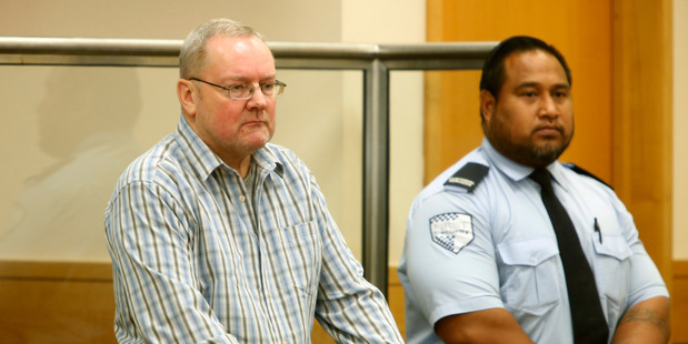 Michael Harris pleaded guilty to 42 charges relating to drugging, photographing and indecently assaulting guests at his Kaitaia backpackers lodge. Photo / Michael  Cunningham
