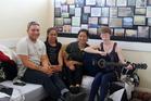 Kaitaia Youth Space Pictured L-R: Wiremu Britton-Rua, Moshardannette Ryder, Hinemora Tipene, Willa McCartney.