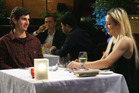 A scene from the TV series, First Dates New Zealand. Photo / TVNZ