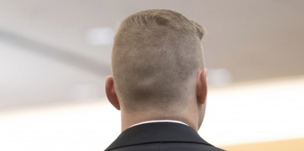 Young men sporting semi-shaved haircuts at the November conference hosted by Richard Spencer's National Policy Institute in Washington, D.C. Photo / The Washington Post / Linda Davidson