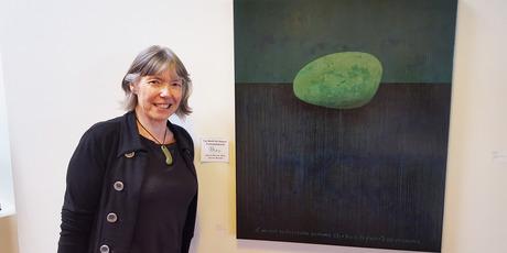 Joanne Barrett was the joint winner of the inaugural Far North Art Award. PHOTO / SUPPLIED