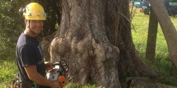 Kirkley had spent the past three years working as an arborist in New Zealand. Photo / Facebook