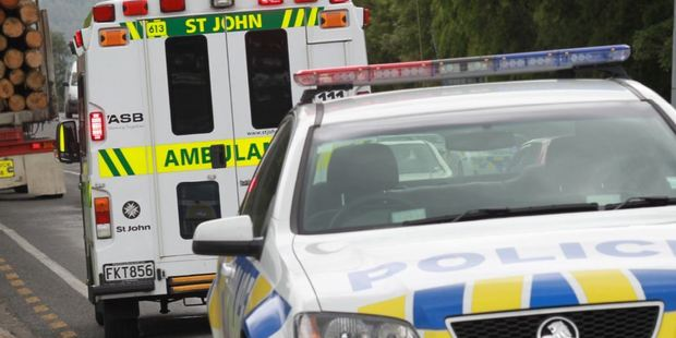 A cyclist has been taken to Tauranga Hospital after a near collision with a truck at Mount Maunganui. Photo/file