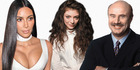 Kim Kardashian, Lorde and Dr Phil know the value of their brand.Pictures / AP, GC Images, supplied