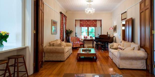Romance is born: A sitting room in the Queenslander. Supplied by Foxtel