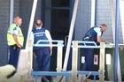 Police search Tahatai Coast School after a bomb threat. Photo/John Borren