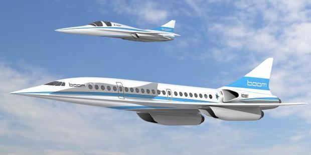 The passenger jet Boom Technology hopes to put in the sky. Photo / Supplied