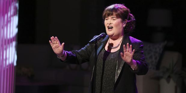 Susan Boyle says she is still yet to feel as accomplished as Elaine Paige who she idolised in her 2009 audition. Photo / Getty.