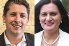 Labour's Michael Wood and National's Parmjeet Parmar. Photos / Supplied