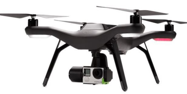 The 3DR Solo drone fixes that by adding a GoPro Hero 4 camera to the package.