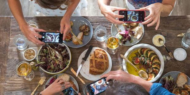 'Food Porn' classes can help you get that perfect shot of your dinner for social media. Photo / Airbnb