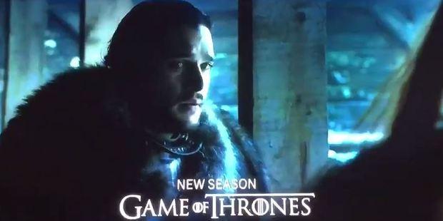 Jon Snow and Sansa discuss. Photo / HBO, @sansaerysnow Twitter