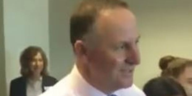 Loading John Key took on the Mannequin Challenge while visiting the QRC Tai Tokerau Resort College in Northland. Photo / YouTube