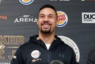 Joseph Parker ahead of his WBO world boxing title fight on Dec 10. Photo / Photosport