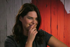 Lizzie, from First Dates NZ, is a fan of bad taste sexual innuendo. Photo/TVNZ