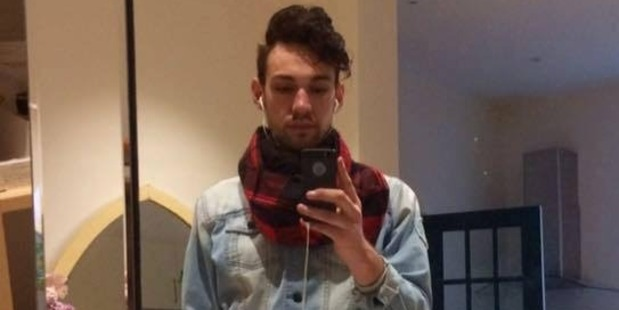 Christchurch man Johnny Lachlan Benjamin Lumsden has been arrested on allegations of having unprotected sex without disclosing his HIV-positive status. Photo / Supplied