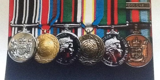 A Kiwi war veteran who served in Bosnia and Afghanistan is appealing for the return of his treasured medals.  Photo / Supplied