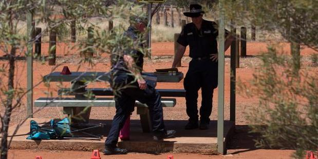 The French tourist died at the rest stop. Photo / News Corp Australia