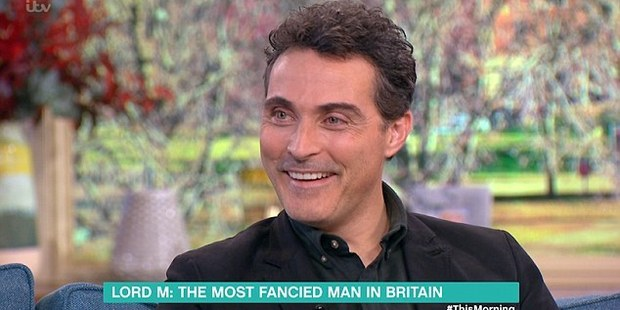 Rufus Sewell has admitted he's more than happy with his heartthrob status after wowing viewers as brooding Lord Melbourne in ITV's smash hit series Victoria. Photo / DailyMail