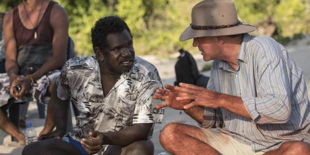 The two men have several discussions on Aboriginal culture. Photo / SBS