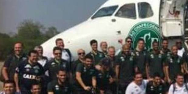 The last photo before the team boarded the doomed flight.