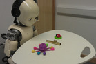 A robot toddler used in the study. Photo / Lancaster University