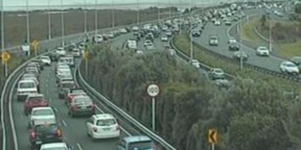 Motorists are warned to expect delays following the crash. Photo / NZTA